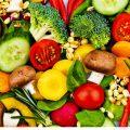 frutta e verdura cruda