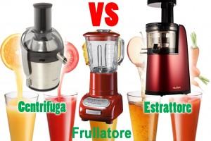 Differenze tra estrattore, frullatore e centrifuga